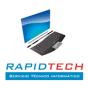 Logo empresa: rapidtech. formateo de computadores a domicilio