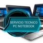 Logo empresa: dynamical laptop, venta de notebook usados y servicio técnico