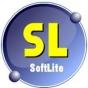 Logo empresa: softlite, software y hardware