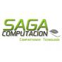 Logo empresa: saga computación (placer)