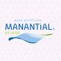 Logo empresa: agua manantial