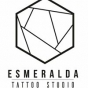 Logo empresa: esmeralda tattoo studio