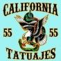 Logo empresa: california tattoo