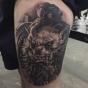 Logo empresa: tatuajes vukelic