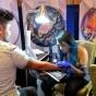 Logo empresa: tania r s tattoo e ilustracion
