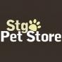 Logo empresa: santiago pet store (nuñoa)