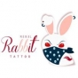 Logo empresa: rebel rabbit tattoo