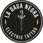 Logo empresa: la daga negra electric tattoo