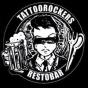 Logo empresa: tattoorockers restobar