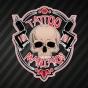 Logo empresa: tattoo maniakos