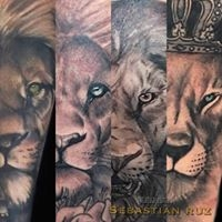 Logo empresa: tatuajes mas (sebastian ruz dominguez)