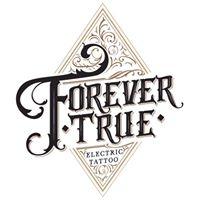 Logo empresa: forever true electric tattoo