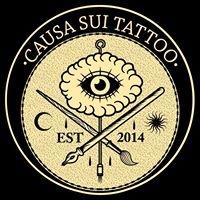 Logo empresa: causa sui tattoo