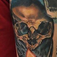 Logo empresa: jorge fuenzalida tatuajes