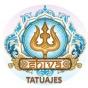 Logo empresa: shiva tatuajes providencia