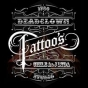 Logo empresa: deadclown.ink  tattoo s