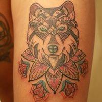 Logo empresa: lafken tatuajes