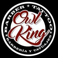 Logo empresa: owl king tattoo
