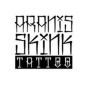Logo empresa: aranis skink tattoo