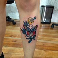 Logo empresa: violeetskull tattoo