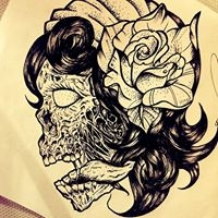 Logo empresa: araya tattoo