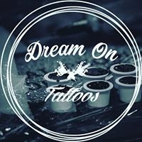Logo empresa: dream on tattoo. estudio de tatuajes