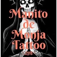 Logo empresa: manito de monja tattoo