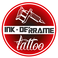 Logo empresa: ink derrame tattoo