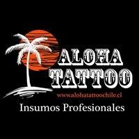Logo empresa: aloha tattoo