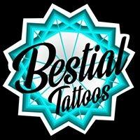 Logo empresa: bestial tattoos