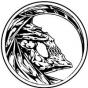 Logo empresa: la morte salón de tatuajes