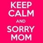 Logo empresa: sorry mom tattoo studio