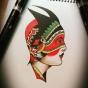 Logo empresa: clasico tatuajes (maipu)