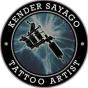 Logo empresa: kender tattoo