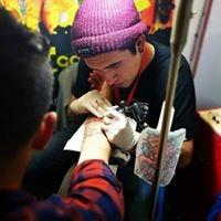 Logo empresa: nicolas muñoz tatuajes