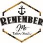 Logo empresa: remember me tattoo studio