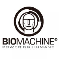 Logo empresa: biomachine. powering humans