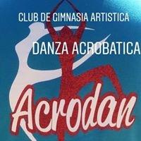 Logo empresa: acrodan (club de gimnasia artística y danza acrobática)