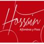 Logo empresa: hossain - alfombras y pisos santiago
