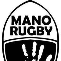 Logo empresa: mano rugby