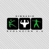 Logo empresa: gimnasio evolución 2.0