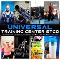 Logo empresa: universal training