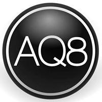 Logo empresa: aq8 fitness