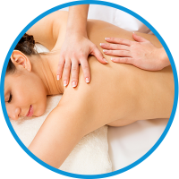 Logo empresa: ms spa (masajes santiago)