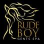 Logo empresa: barberia rude boy