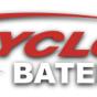 Logo empresa: baterias cyclon
