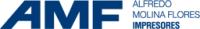 Logo empresa: amf impresores