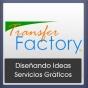 Logo empresa: transfer factory (casa matriz)