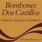 Logo empresa: bombones dos castillos