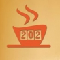 Logo empresa: cafe 202